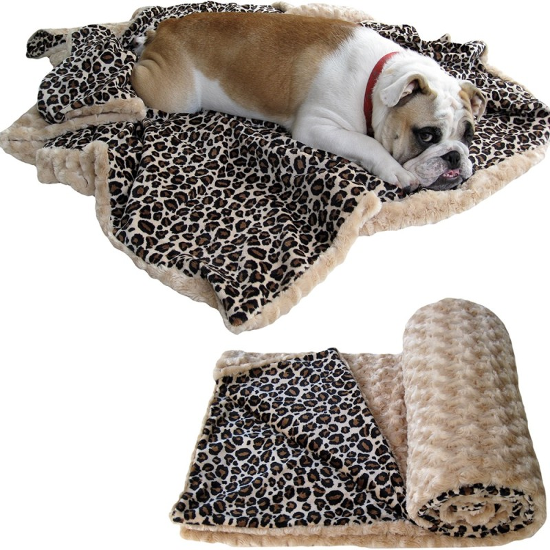 Luxury custom dog blankets for any size dog