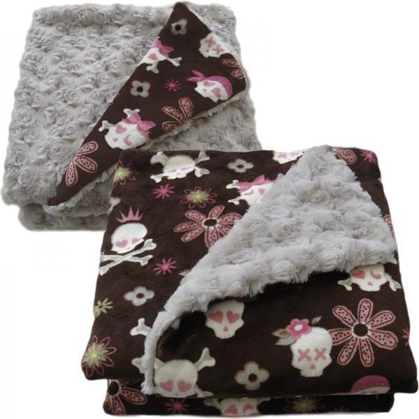 Luxury custom dog blankets for any size dog