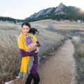 Matching human and dog fashion, cruelty-free from Bhutan