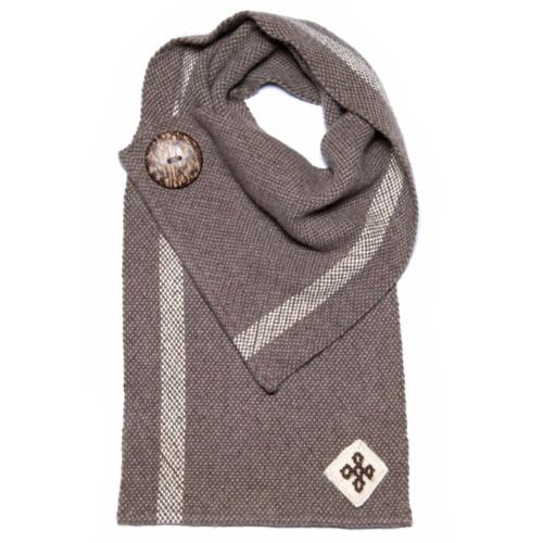 eco-friendly, artisan wool scarf from Bhutan