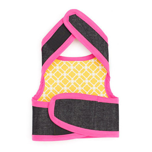 Stylish dog harness with anti-anxiety aromatherapy