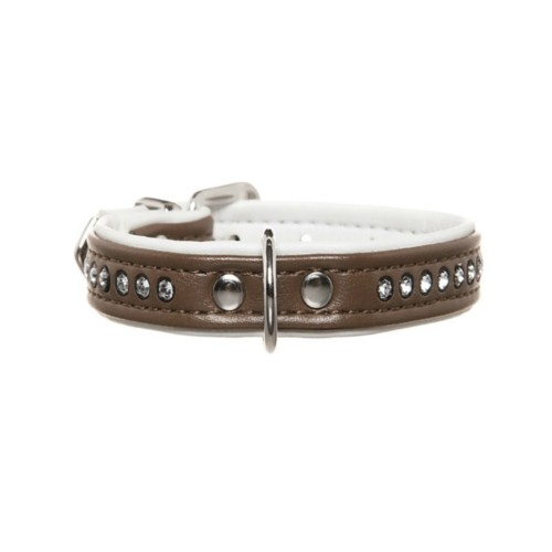 luxury dog collars, faux leather, Swarovski Crystal Elements