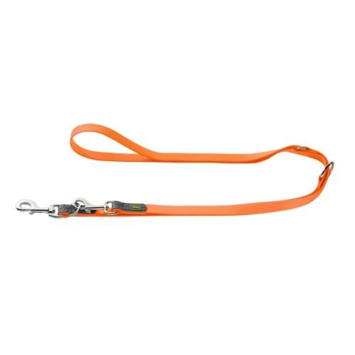 Designer Training Dog Leash of Neoprene-Orange