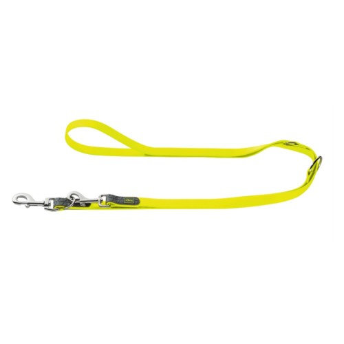 Designer Training Dog Leash of Neoprene-Yellow